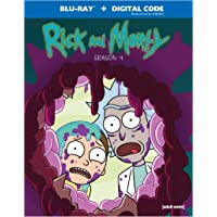 Rick & Morty: Season 4 (Blu-ray)