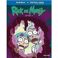 Rick & Morty: Season 4 (Blu-ray)