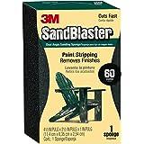 3M SandBlaster Dual Angle Sanding Sponge, 60-Grit, 2.625-Inch by 4.5-Inch