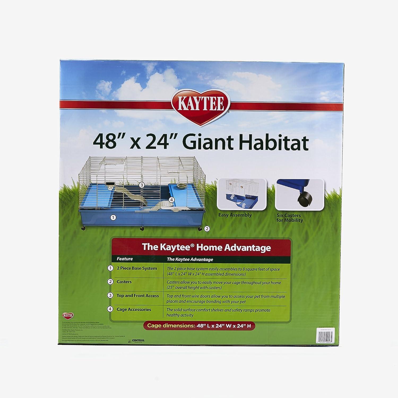 Amazon Com Kaytee My First Home Giant Pet Habitat 48 X 24 X