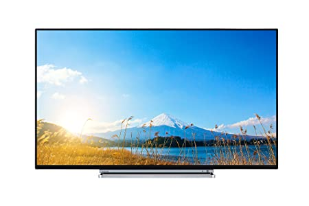 0348917492d Toshiba 49U5766DB 49-Inch 4K Ultra HD Smart LED WLAN TV with Freeview Play  - Black TV with a chrome surround (2017 Model)  Amazon.co.uk  TV