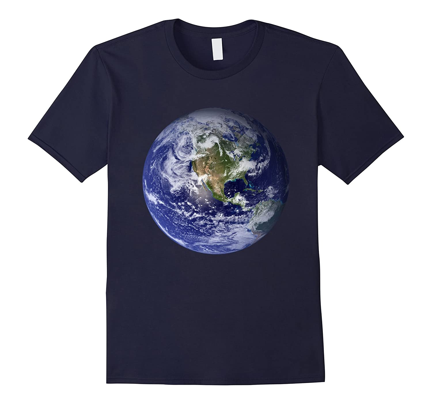 Earth Planet T-Shirt Our Home In The Unsiverse-T-Shirt
