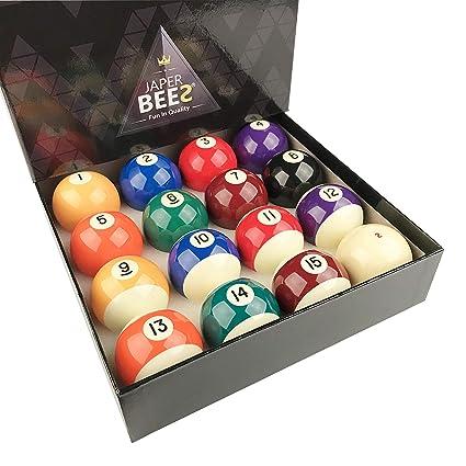 Amazon.com   JAPER BEES Premium Professional Billiard Ball Pool Ball ... 4ab5ab1b78