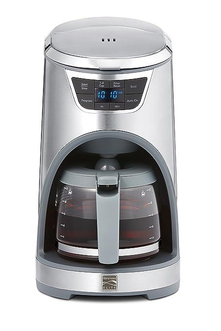 amazon com kenmore elite 76772 12 cup drip coffee maker in rh amazon com Kenmore Dryer Kenmore Dryer