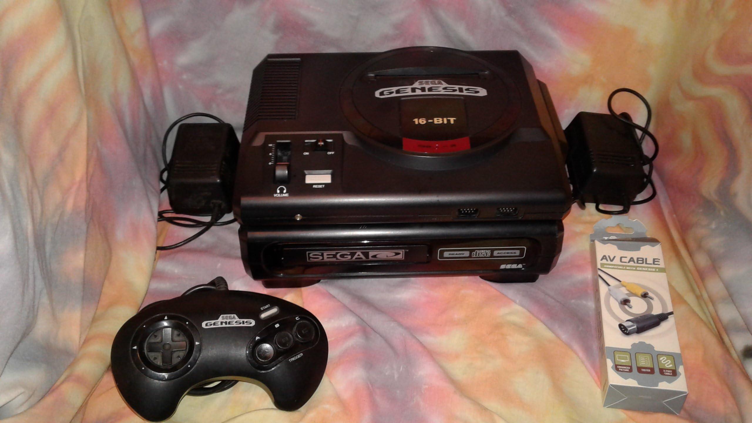 Amazon com: Sega CD System Model 1 - Video Game Console: Unknown