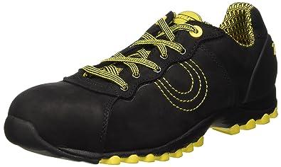 67c5a3f8 Amazon.com   Diadora Match Beat S3 HRO Low Mens Safety Shoes Black ...