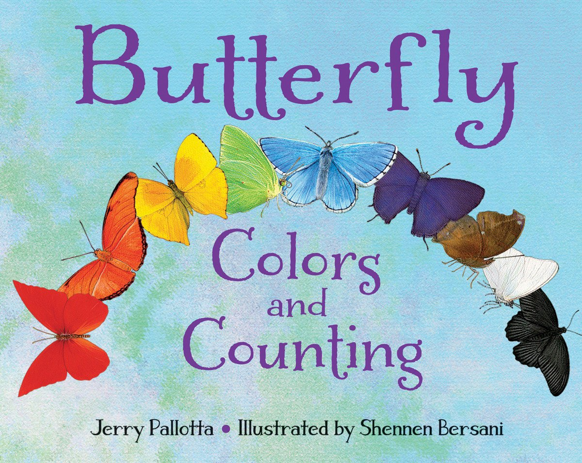 Amazon.com: Butterfly Colors and Counting (Jerry Pallotta\'s Counting ...