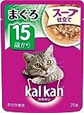 カルカン パウチ スープ仕立て 高齢猫用 15歳から まぐろ 70g×16袋 (まとめ買い) [キャットフード]