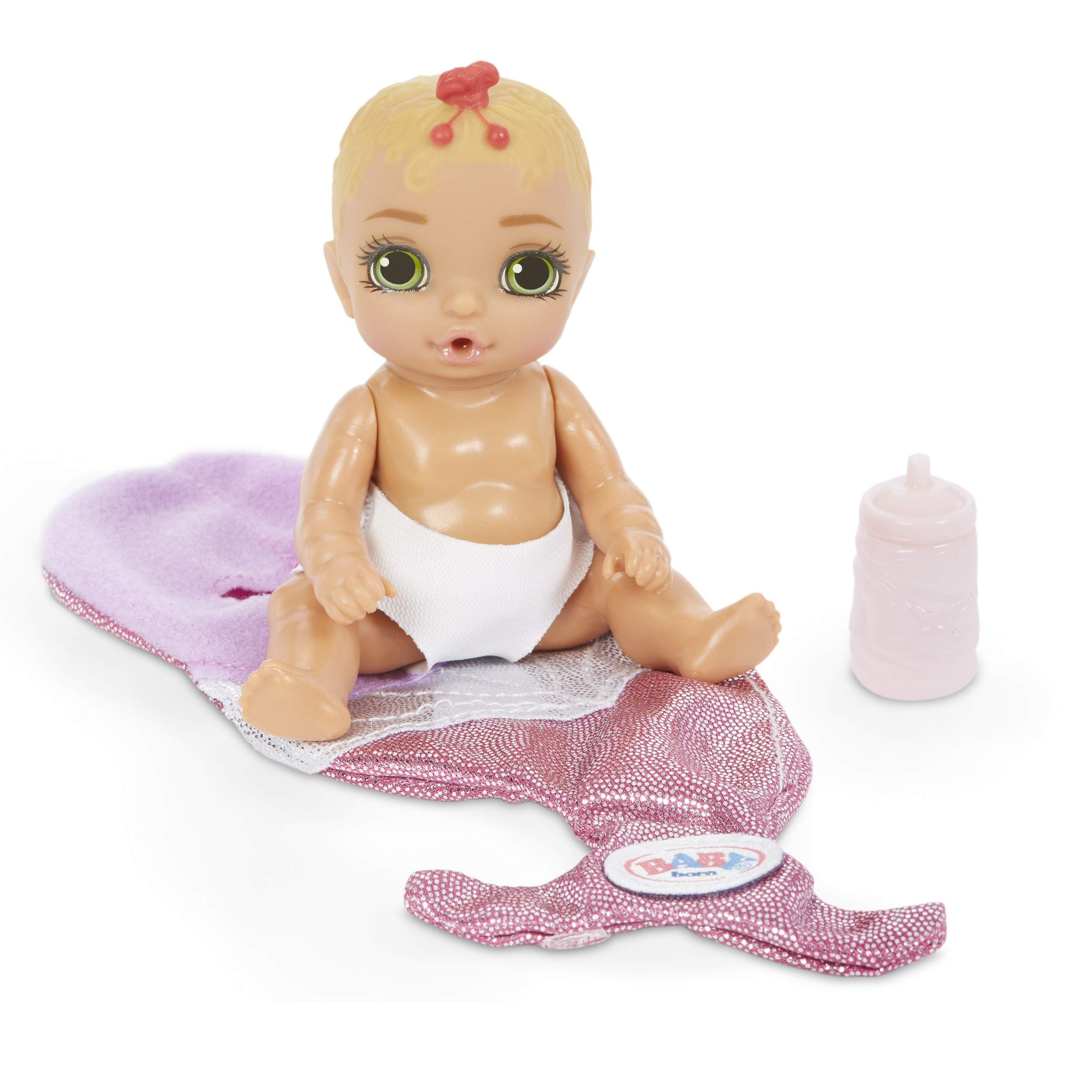 Multicolor Baby Born Surprise Collectible Baby Dolls with Color Change Diaper