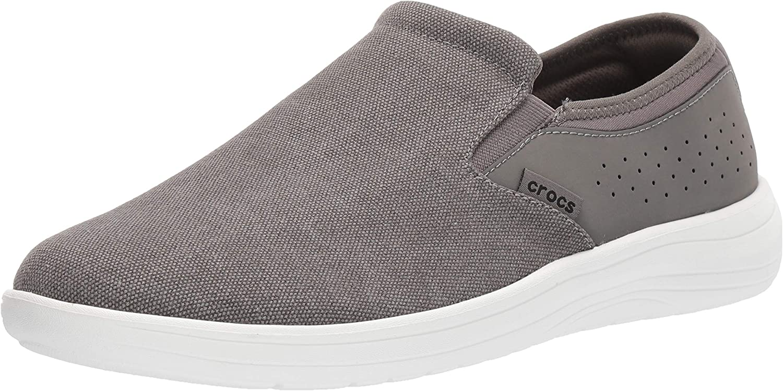 Crocs Men's Reviva Canvas Slip On Shoe
