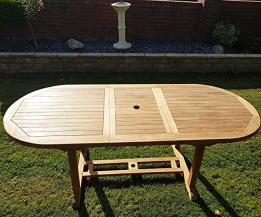 chelsea home and leisure ltd Mesa de Teca Extensible 180 – 240 cm ...