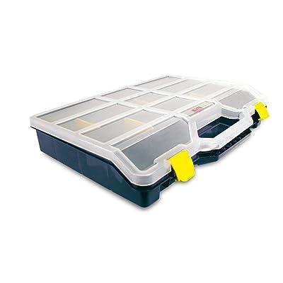 Tayg Estuche con separadores móviles n.47-26, 460 x 350 x 81 mm: Bricolaje y herramientas