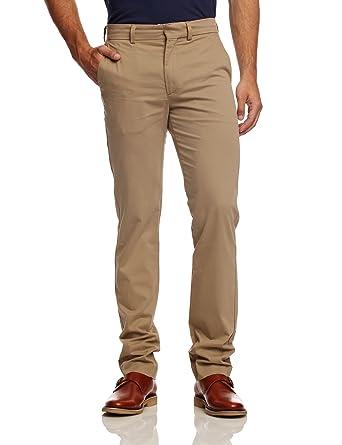 Dockers - D-Zero - Pantalon - Uni - Coton Stretch - Homme - Beige