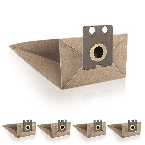 ✧WESSPER® Bolsas de aspiradora para Nilfisk GD910 (5 piezas ...