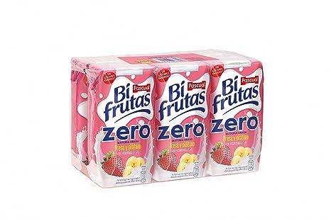 Bifrutas Fresa Plátano Prisma - Pack de 6 x 20 cl - Total: 120 cl