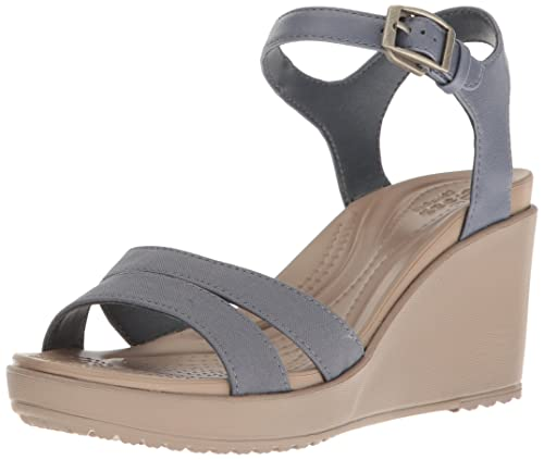 232713f5d5e2 crocs Women s Leigh Ii Ankle Strap Pumps  Buy Online at Low Prices ...