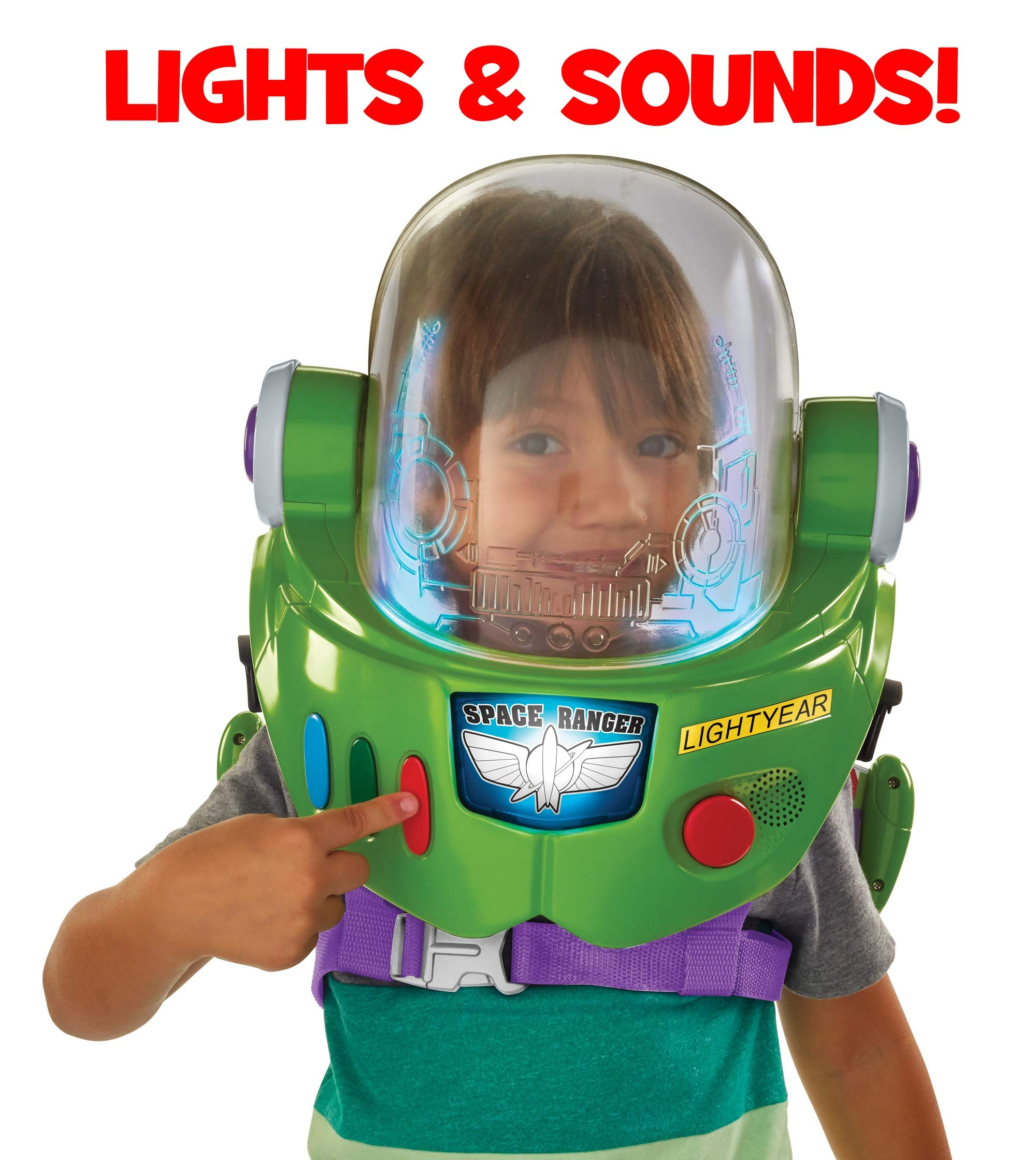 Toy Story Disney Pixar 4 Buzz Lightyear Space Ranger Armor with Jet Pack by Toy Story (Image #5)