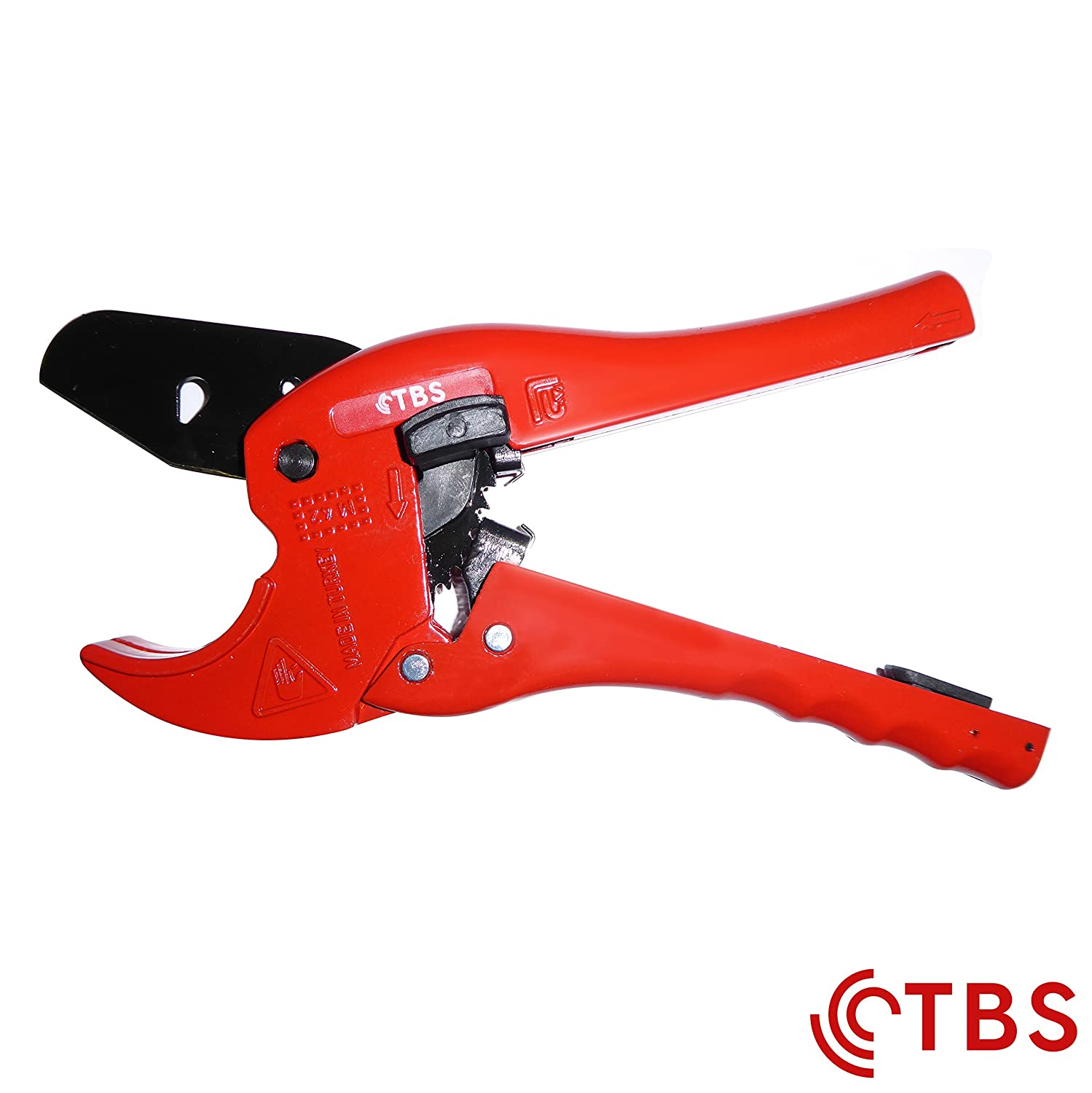 TBS Automatic Plastic 42mm Pipe Shears & Cutters TBS Tools