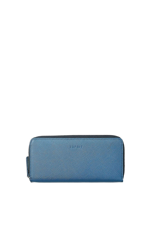 Esprit Accessoires - 078ea1v025, Portafogli Donna Blu (Navy) 1x9.5x19.5 cm (B x H T)