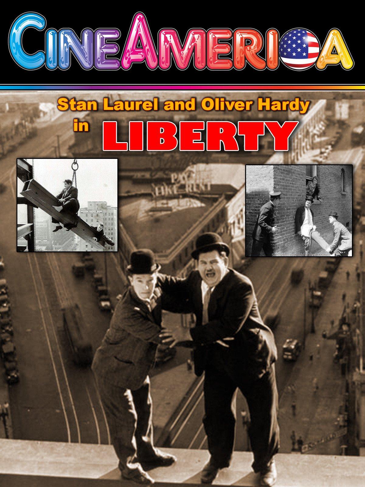 Laurel and Hardy Liberty on Amazon Prime Video UK