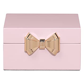 13f01c76e Image Unavailable. Image not available for. Color: Ted Baker Pink Lacquered  Jewelry Box- Small ...