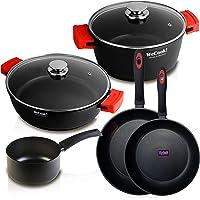 WECOOK Ecostone Batería de Cocina inducción 5 Piezas