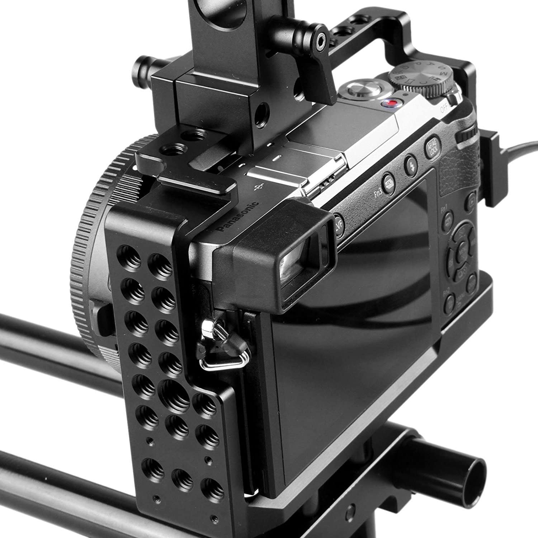 SMALLRIG Cage for Panasonic Lumix DMC-GX85//GX80//GX7 Mark II-1828