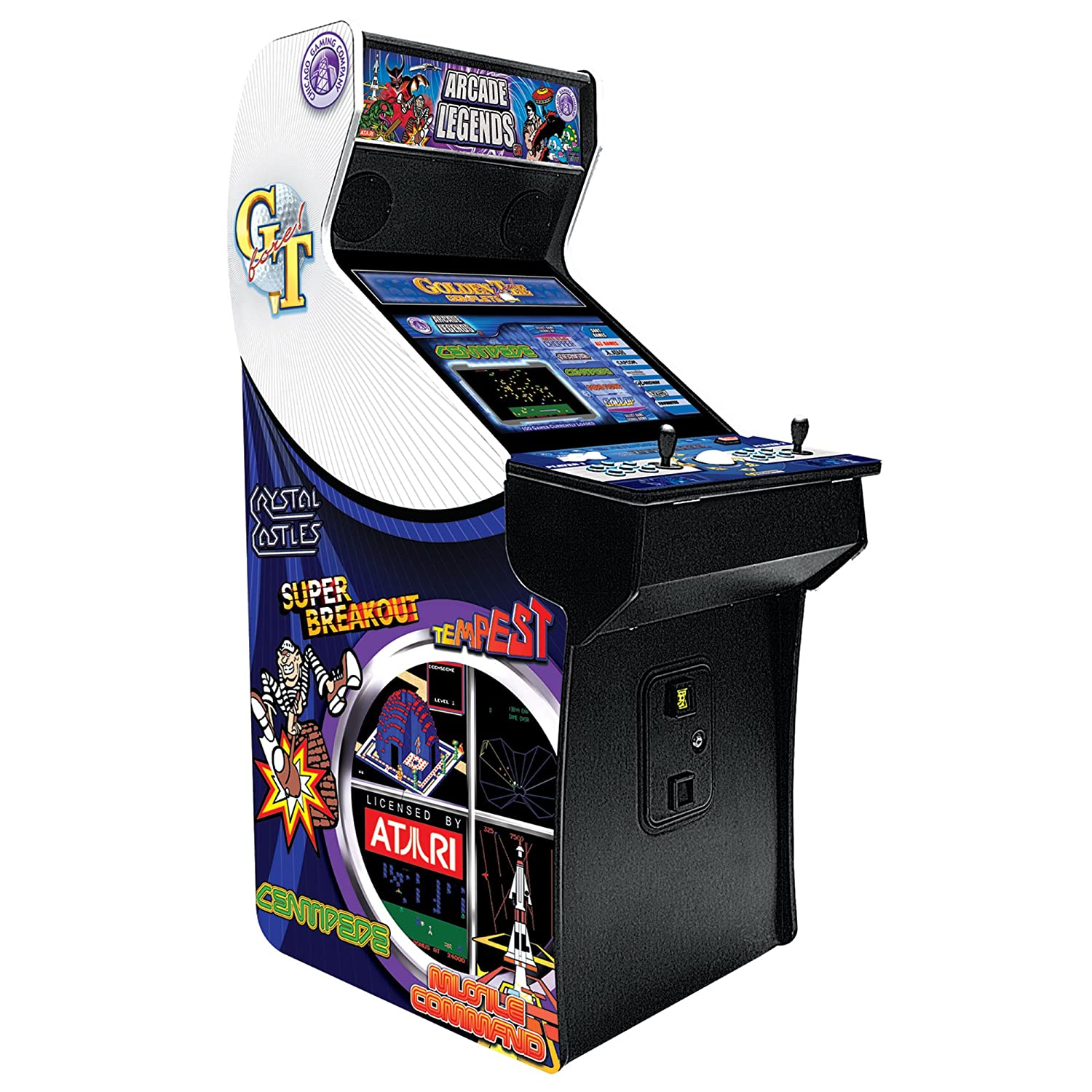 Amazon.com: Arcade Legends 3 With Golden Tee And Installed Game Pack 534  Upgrade: Sports U0026 Outdoors