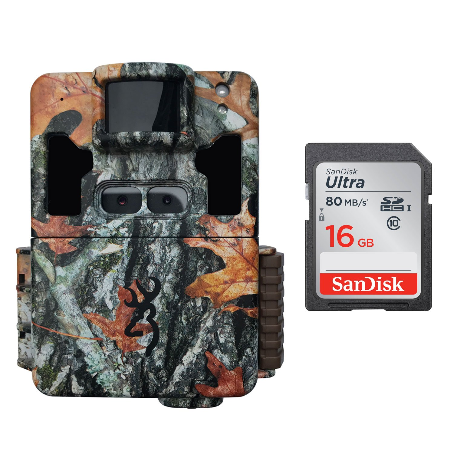 Browning Dark OPS PRO XD Dual Lens Trail Game Camera 24MP with 16GB Card BTC6PXD