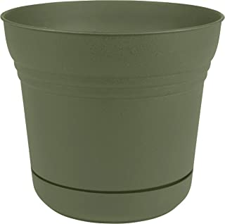 "product image for Bloem SP1242 Saturn Planter w/Saucer 12"" Living Green"