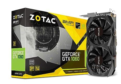 Zotac ZT-P10610H-10M - Tarjeta gráfica (GeForce GTX 1060, 3 ...