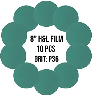 "Hanko 5/"" No-Hole Film Backed 220G Sanding Discs Grip H/&L 100//Box"