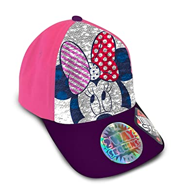 Minnie WD20288 Gorra, Multicolor, Talla única para Niñas: Amazon ...