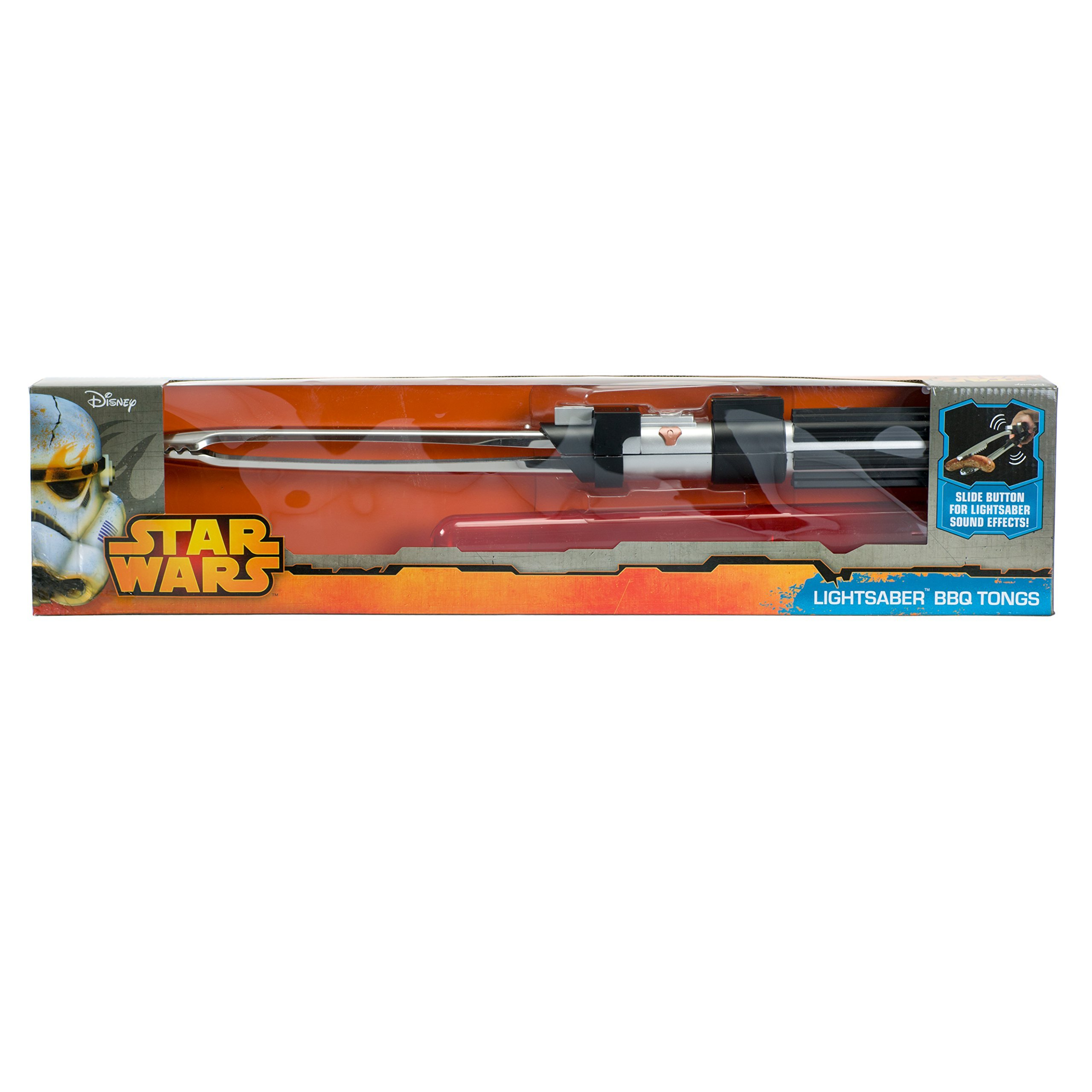Star Wars Lightsaber BBQ Tongs with Sounds - Barbecue Like a Jedi (22'' Long) by Underground Toys (Image #6)