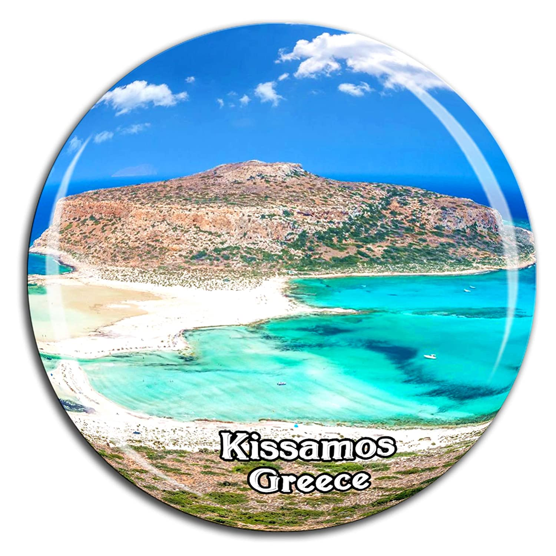Weekino Balos Lagoon Kissamos, Creta Grecia Imán de Nevera Cristal ...