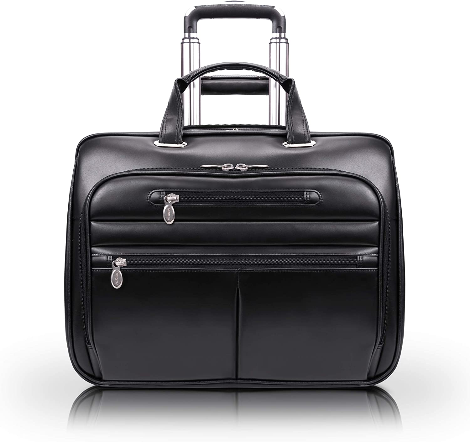 McKlein USA Wrightwood Wheeled 17 Inch Laptop Case