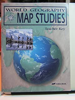 World geography map studies student a beka amazon books world geography map studies teacher key gumiabroncs Gallery