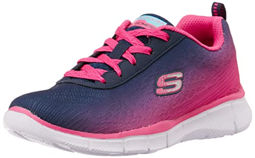 ccc70360d79b Skechers Girls Equalizer Navy and Hotpink Sports Shoes - 1 Kids UK  India(33.5