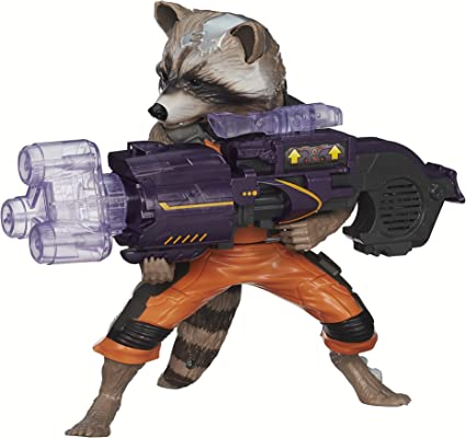 2014 Hasbro Marvel Guardians of the Galaxy Infinite Series Rocket Raccoon Figure