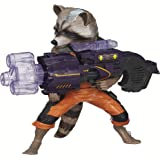Marvel Guardians of The Galaxy Big Blastin' Rocket Raccoon Figure, 10 Inch