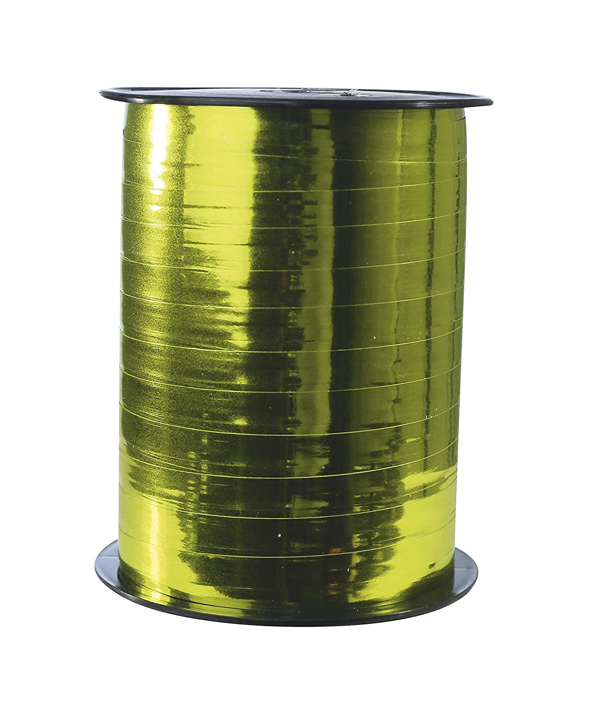 1 St/ück gold mit Metalleffekt, 250 m x 7,5 mm, ideal f/ür Ihre Geschenke und Bastelprojekte Clairefontaine 602075C Spule Geschenkband