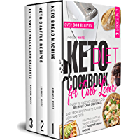 KETO DIET COOKBOOK FOR CARB LOVERS: Enjoy Ketogenic Weight-Loss without Carb Cravings | Easy Recipes for True to Flavor…