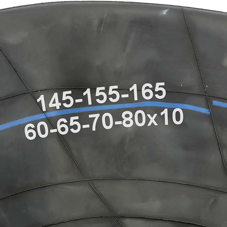 2x Inner Tube 10 Inch 145x10 155x10 165x10 60//70//80 Profile Straight Valve Car