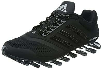 competitive price b8fac 6b221 Adidas Men s Springblade Drive 2 M Core Black and Yellow Running Shoes ...