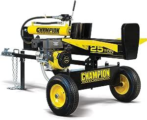 Champion Power Equipment-100251 25-Ton Horizontal/Vertical Full Beam Gas Log Splitter with Auto Return
