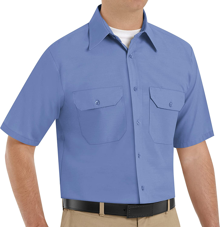 Red Kap Men's RK Solid Dress Uniform Shirt
