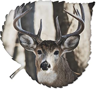 product image for Metal Wall Art - Buck with Antlers Hanging Wall Decor - Country Rustic Design - Handmade in the USA for Use Indoors or Outdoors