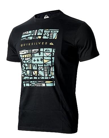 Camiseta Quiksilver algodón de manga corta para hombre 47511 (XL): Amazon.es: Ropa y accesorios