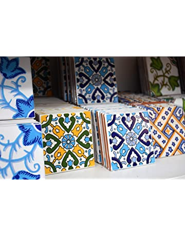 Piastrelle Di Ceramica Decorate.Amazon It Piastrelle Di Ceramica Fai Da Te