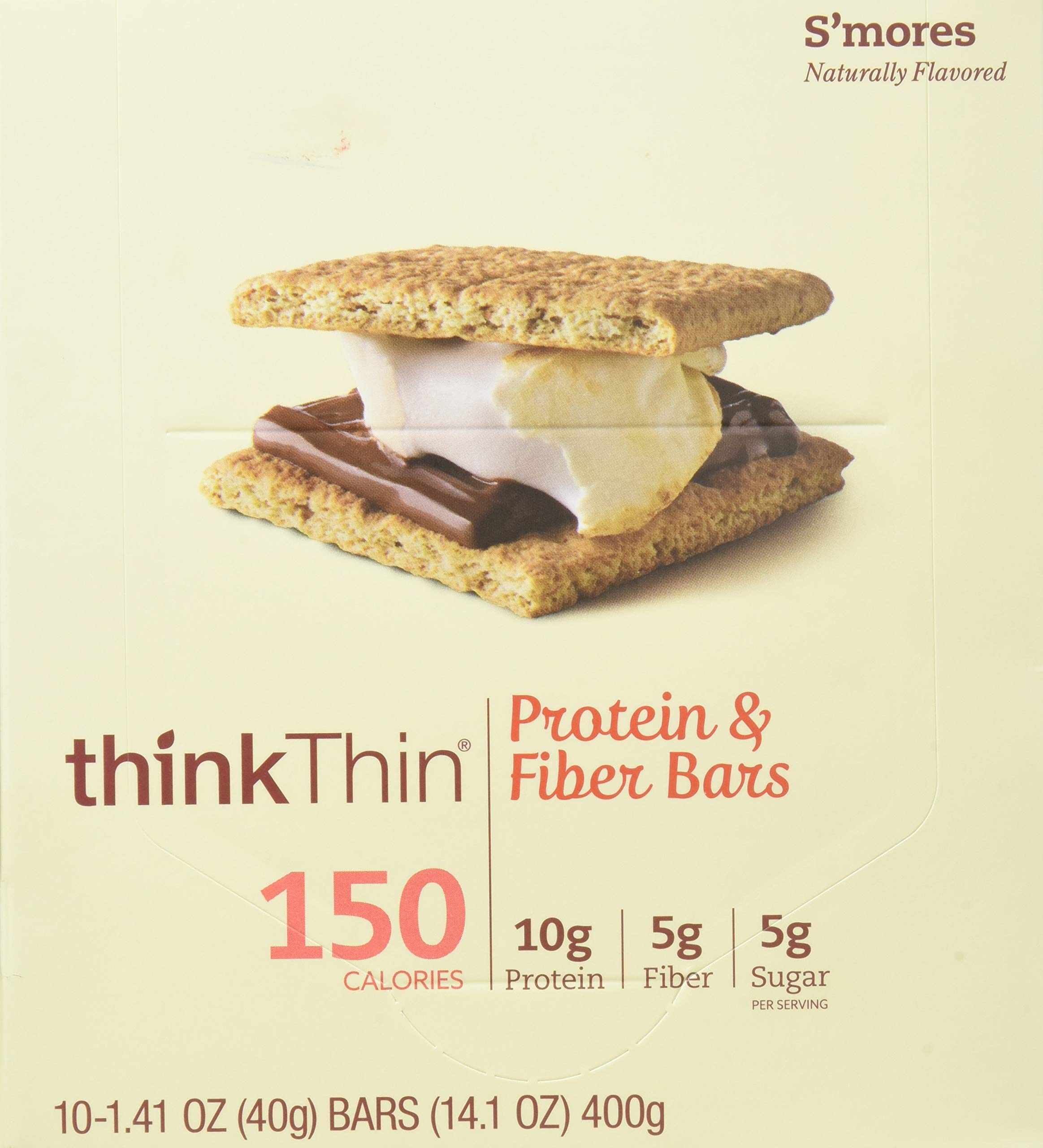 Think Thin Salted Caramel Lean Bar, 1.41 Ounce -- 120 per case. by thinkThin (Image #6)